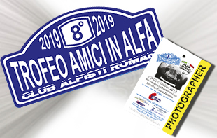 Accredito Media 7° Trofeo Amici in Alfa